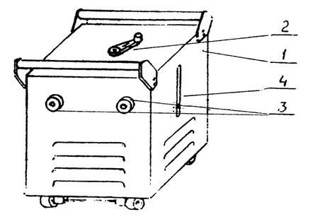 Общий вид трансформатора